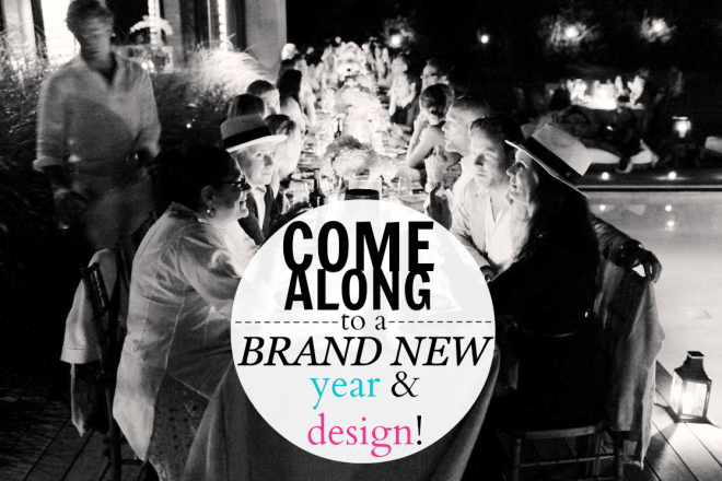 Come Along - New Year & Design