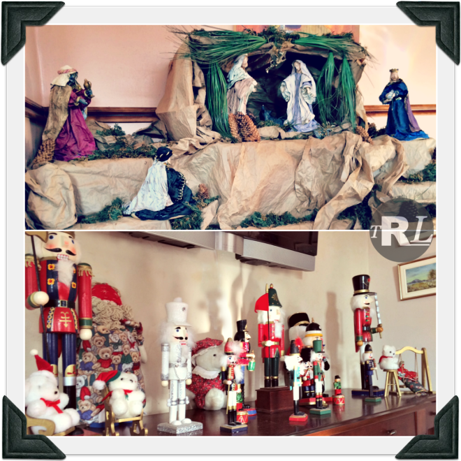 Nativity Scene and Nutcrackers