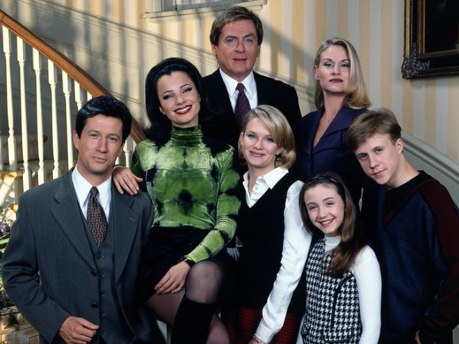 Cast of The Nanny
