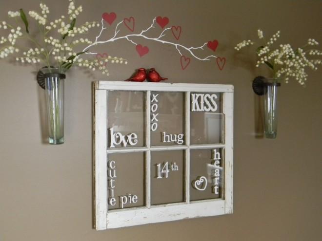 Valentine's Day Window