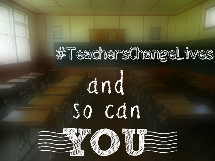 We Owe Part of Our Awesomeness To Our Teachers, So Let's Reward Them!