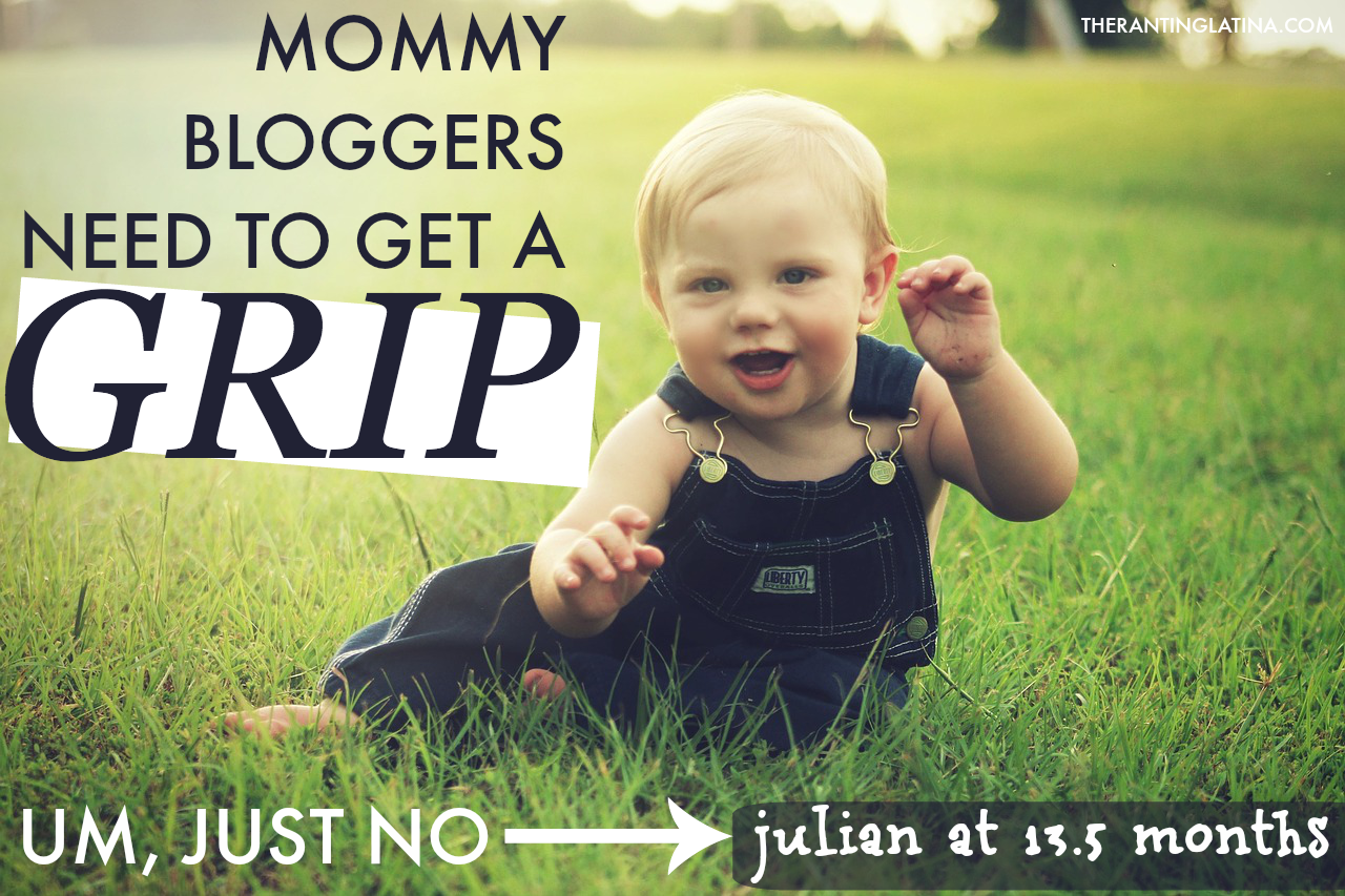 Some Mommy Bloggers Need to Get A Grip