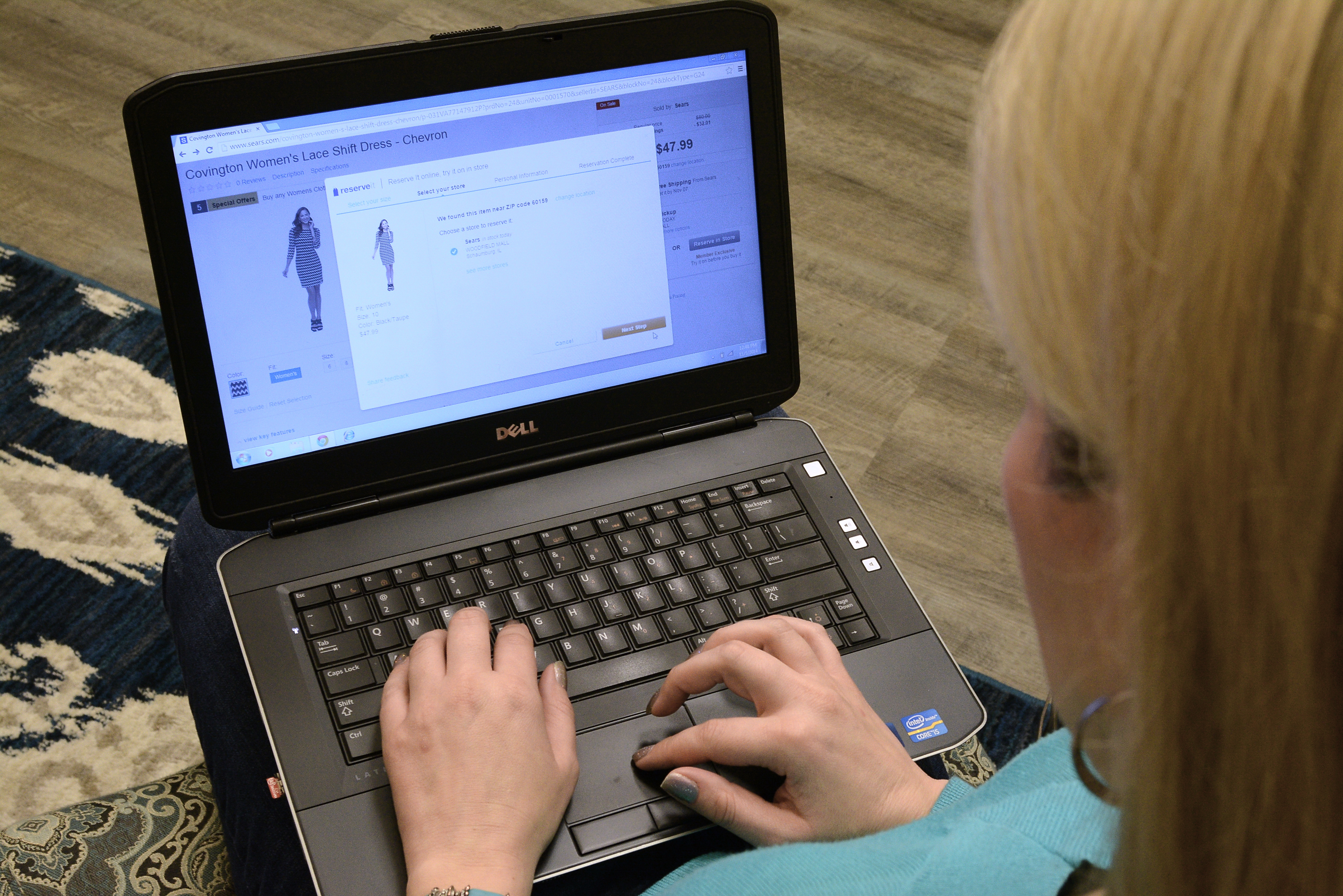 See It Online, Try It On In-Store With Sears's New Reserve It Service
