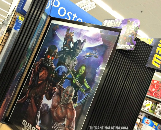 Guardians of The Galaxy Poster At Walmart