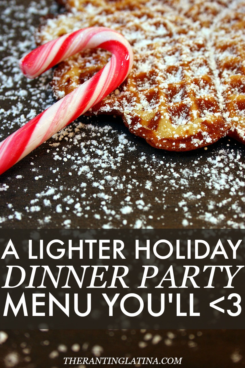 #WeDo: Lighter Holiday Dinner