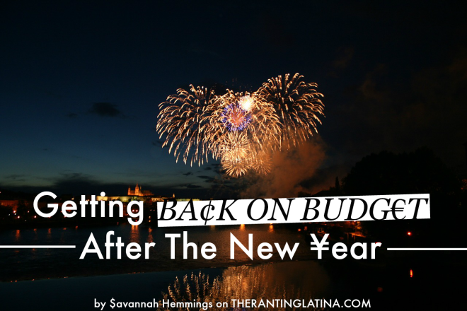 Post New-Year Budgeting Tips