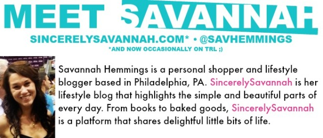 TRL - Savannah Hemmings