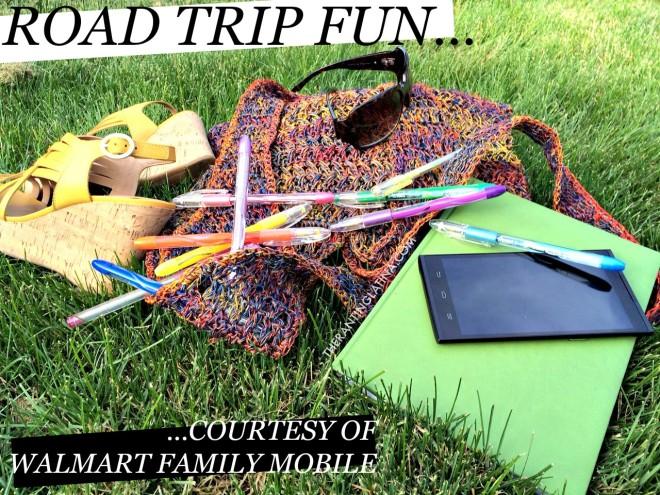 Road Trip Fun... Courtesy of Walmart Family Mobile