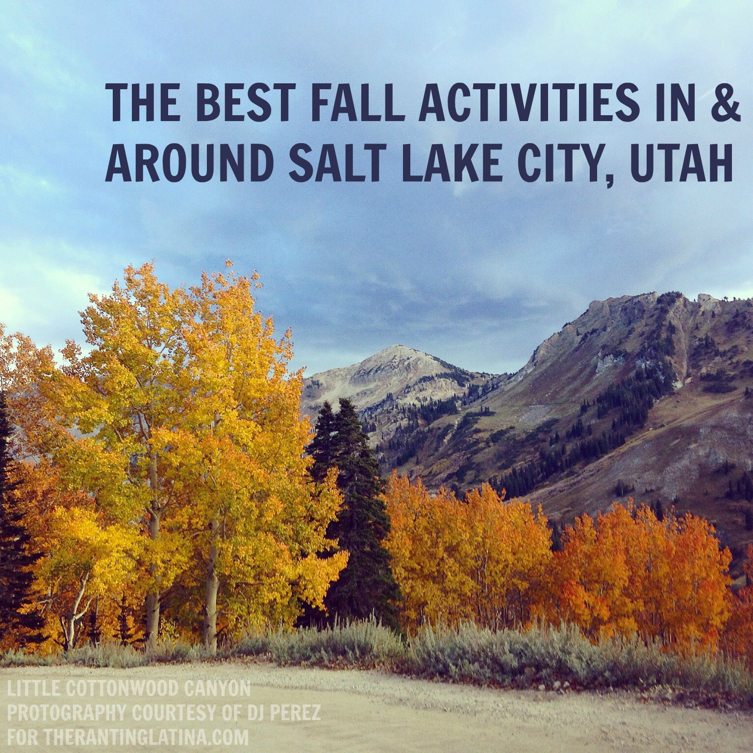 The best fall activities in and around SLC, UT