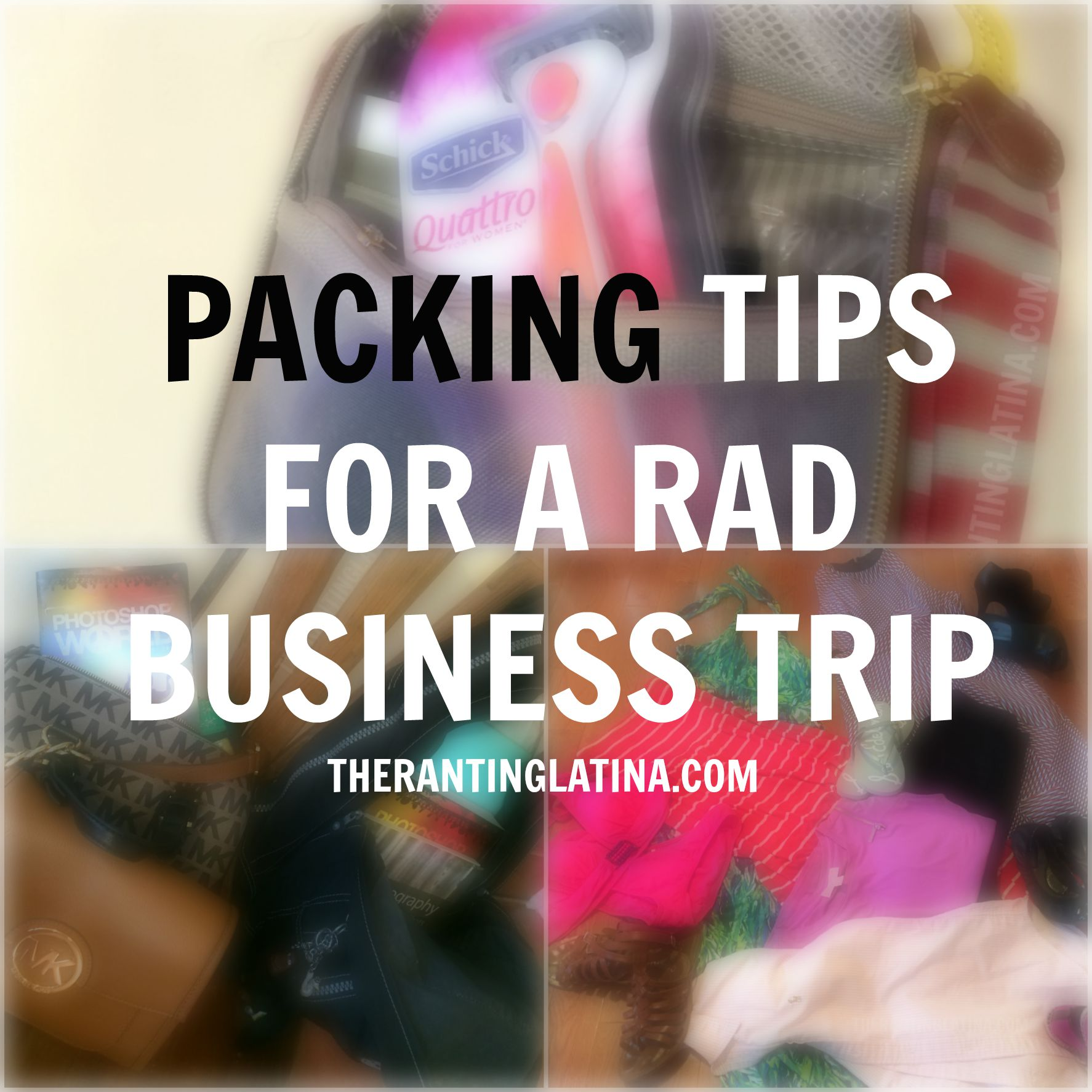 Packing Trips for A Rad Business Trip