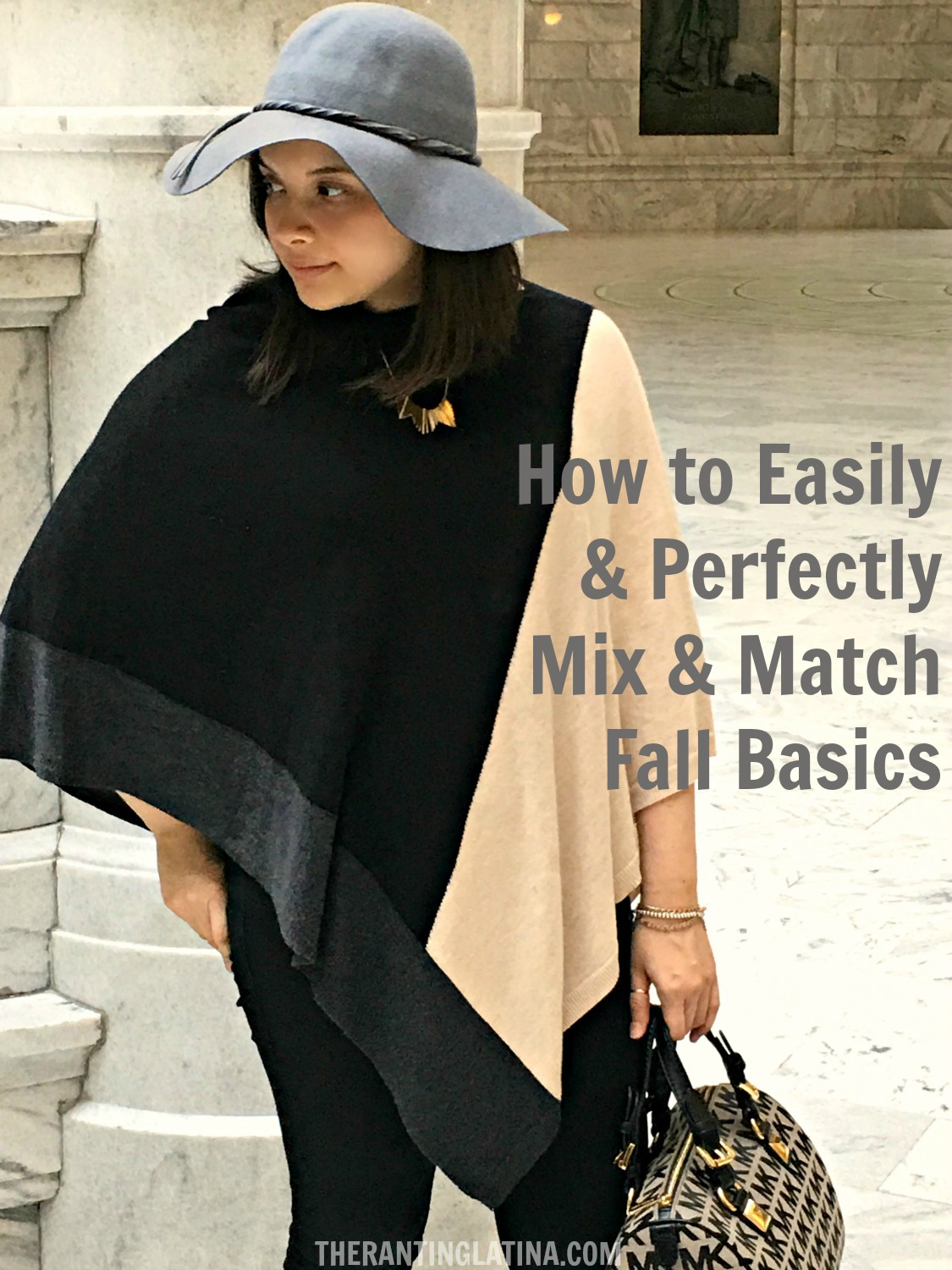 How to Mix & Match Fall Basics & Transition to A New Season