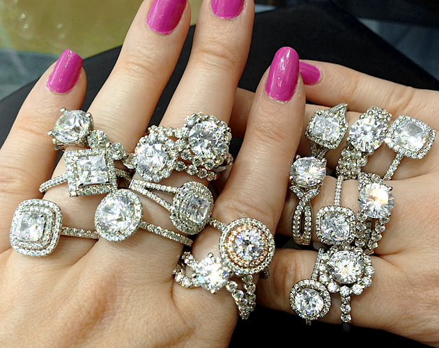 Many Engagement Rings