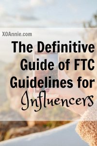 The Definitive Guide of FTC Guidelines for Influencers