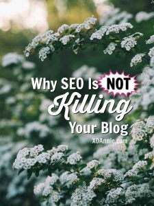 Don't be fooled: SEO isn't killing your blog and here's why