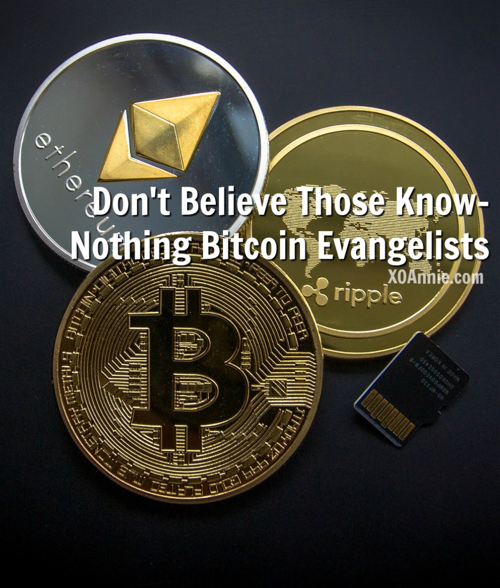 Don't Believe Those Know-Nothing Bitcoin Evangelists!