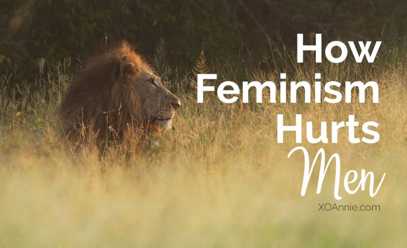 How Feminism Hurts Men