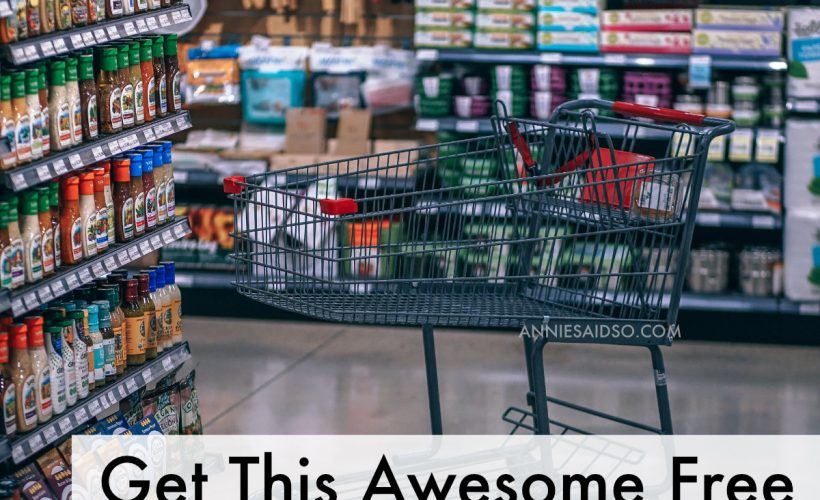 Get this Free Awesome printable Grocery List!