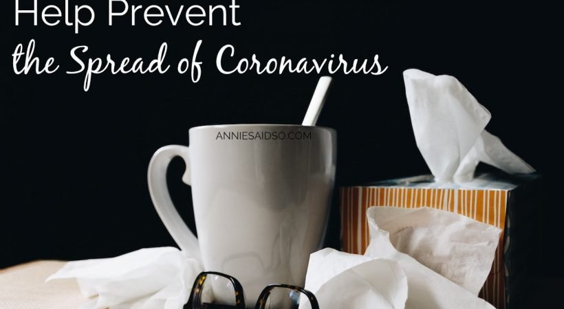 Here's How You Help Prevent The Spread of Coronavirus