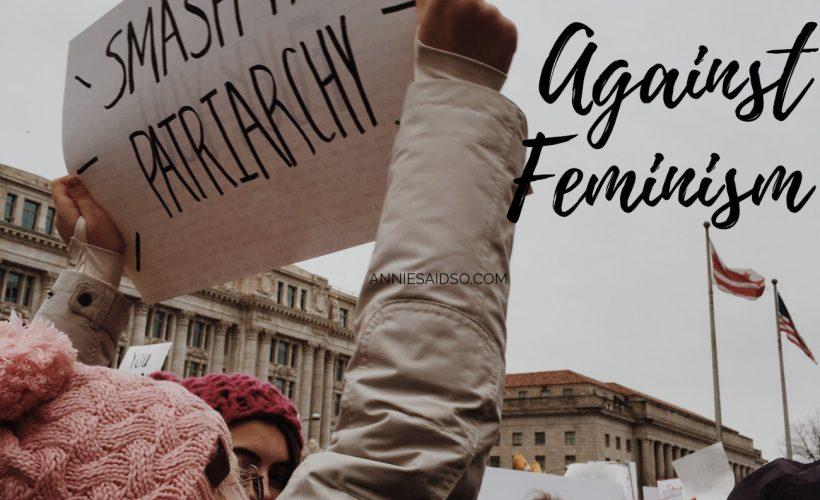 Reasons Why I'm Still Against Feminism
