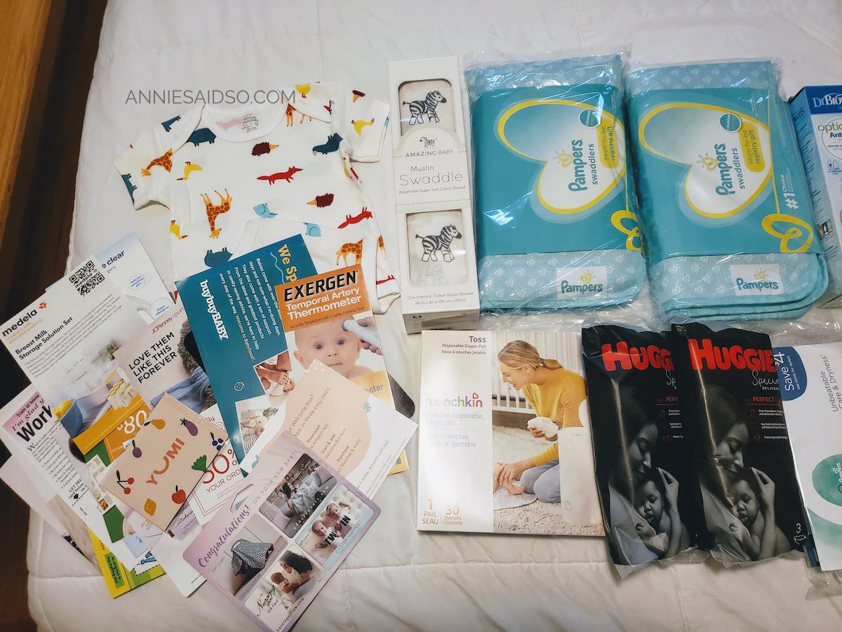 Baby Welcome Box Items