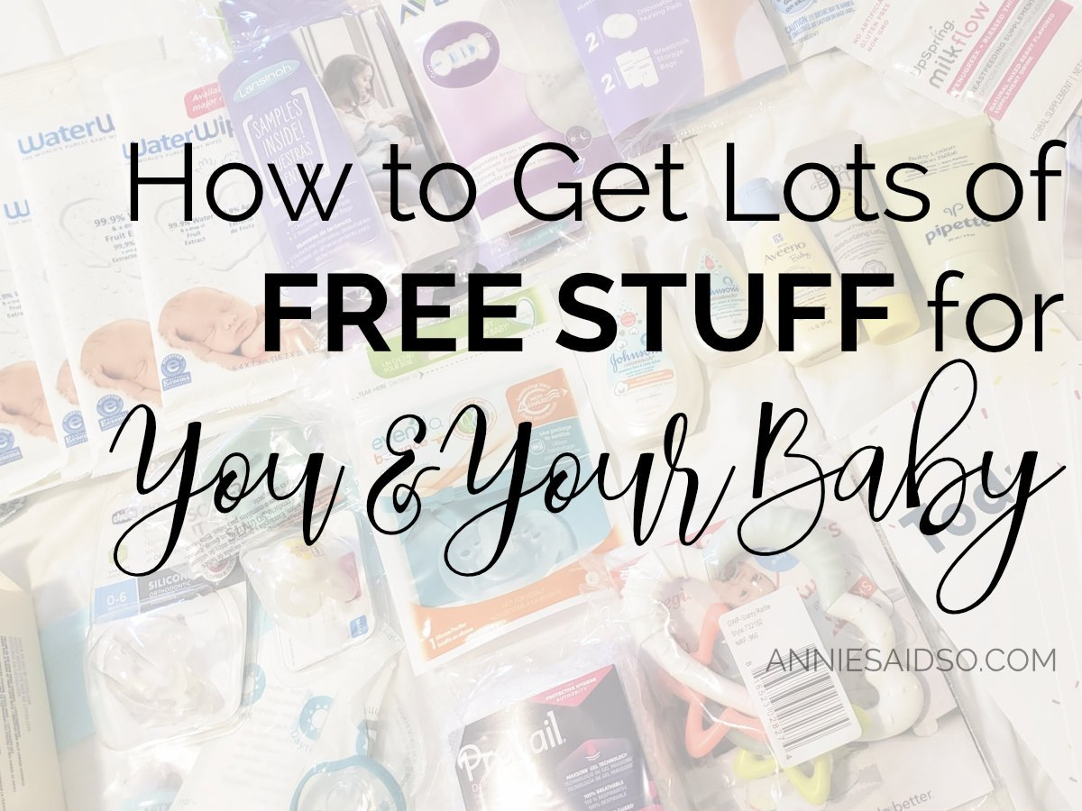 How to Get Free Stuff for Your Baby from Walmart, Amazon, Target, Noobie Boox, Baby List, etc.!